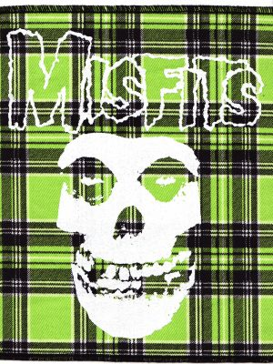 The Misfits Red Tartan Patch
