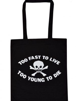 Coffin Nail Tote Bag