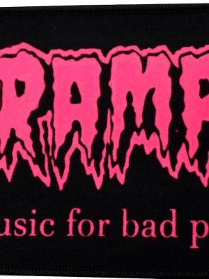 Cramps Bad Music (Green) Patch