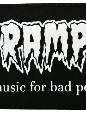 Cramps Bad Music (Pink) Patch