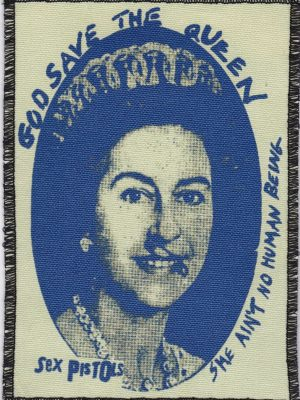 Sex Pistols God Save the Queen Patch