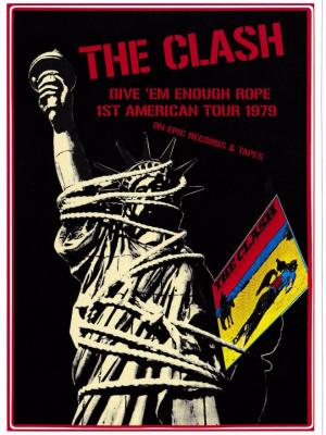 Clash Give 'em Enough Rope Vinyl Sticker