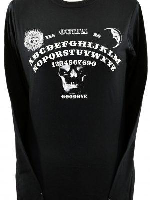 Ouija Board Ladies Long Sleeve Top