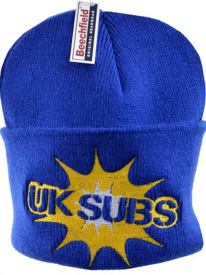 UK Subs Embroidered Beanie