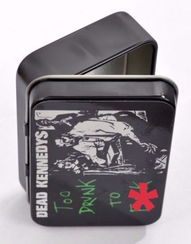 UK Subs Born a Rocker Small Tin