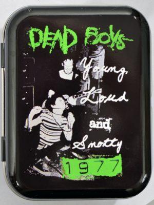 Dead Boys 1977 Small Tin