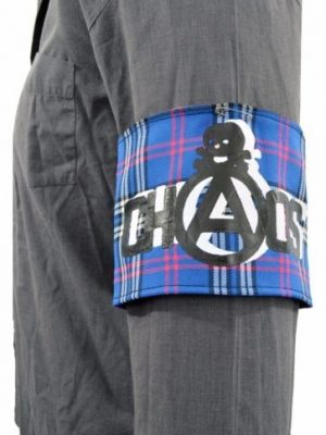 Chaos UK Red Tartan Patch