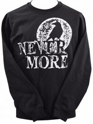 Nevermore Edgar Allan Poe Unisex Sweatshirt