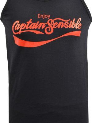 Captain Sensible Soup Mens Tank Top