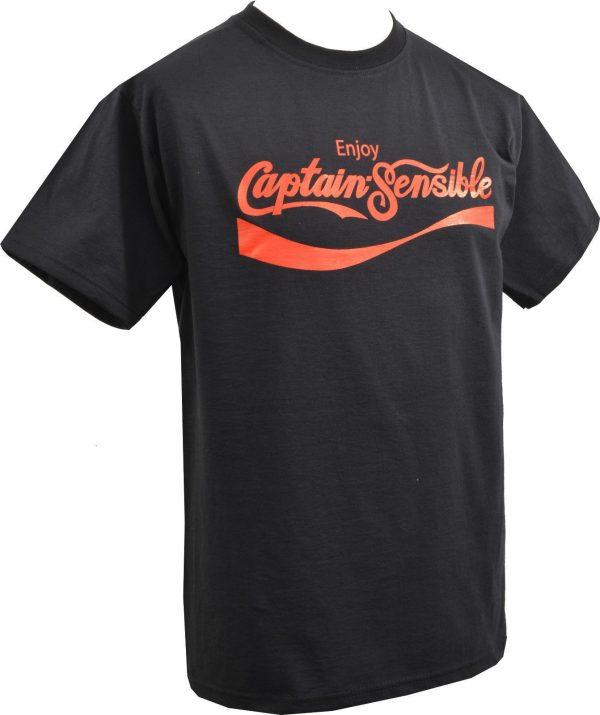 Enjoy Captain Sensible Mens T-Shirt