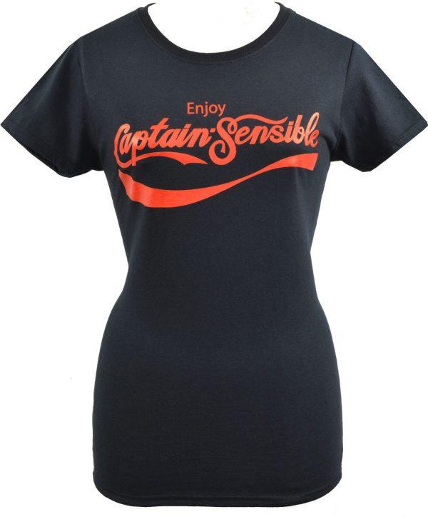 Captain Sensible Soup Ladies T-shirt
