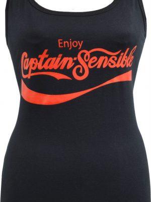 Captain Sensible Soup Ladies Tank Top