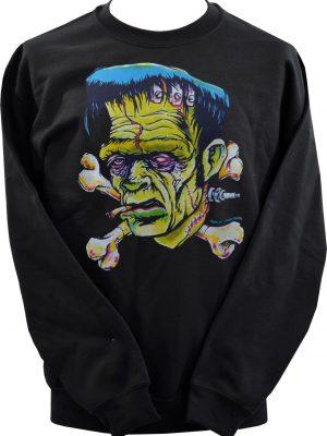 Johnny Ace Franken' Bones Unisex Sweatshirt