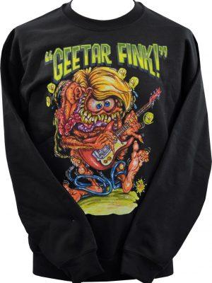 Johnny Ace Geetar Fink Unisex Sweatshirt