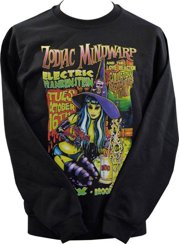 Johnny Ace Zodiac Minwarp Unisex Sweatshirt