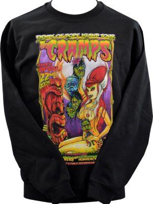Johnny Ace The Cramps Tiki Unisex Sweatshirt