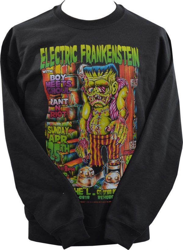 Johnny Ace Electric Frankenstein Unisex Sweatshirt