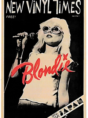 Blondie Vintage Vinyl Sticker