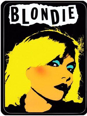 Blondie Vinyl Sticker