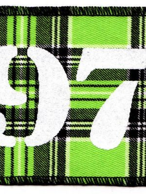 1977 Green Tartan Patch