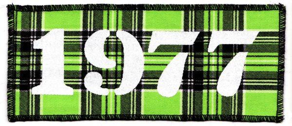 1977 Green Tartan Patch