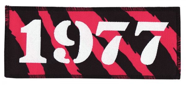 1977 Pink Zebra Patch