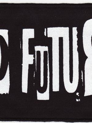 No Future Black Patch