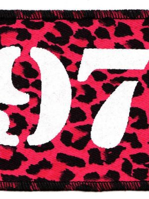 1977 Pink Leopard Patch