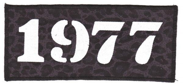 1977 Black Leopard Patch