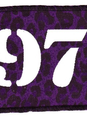1977 Purple Leopard Patch