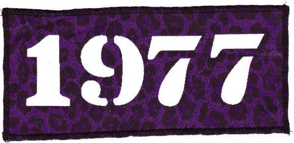 1977 Purple Leopard Patch