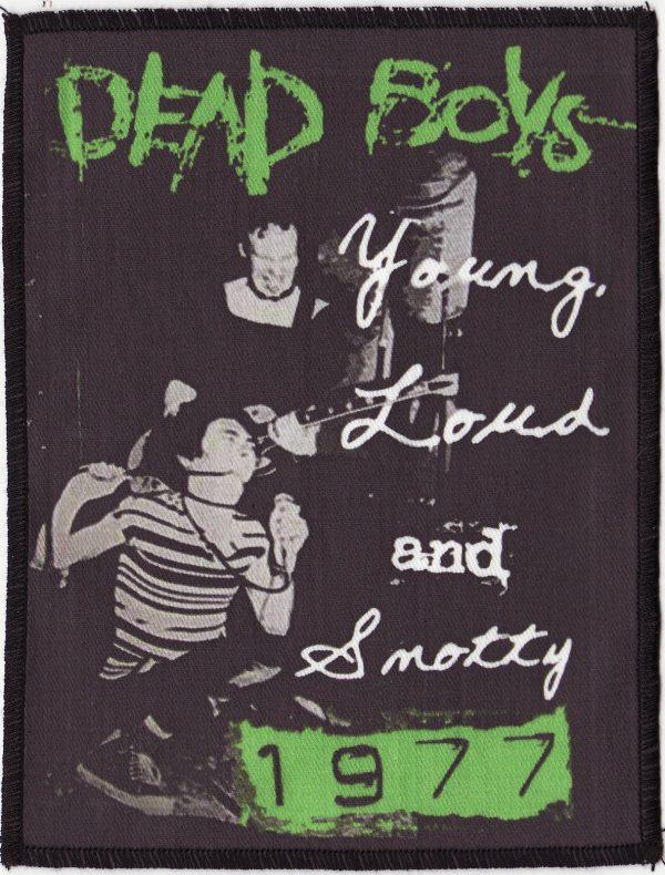 Dead Boys Black Patch