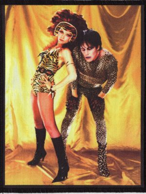 The Cramps Poison Ivy Black Patch