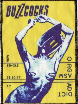The Buzzcocks Orgasm Addict Patch