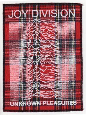 Joy Division Red Tartan Patch