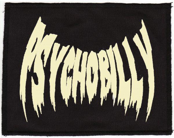 Psychobilly Fleshtone And Black Patch