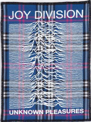 Joy Division Blue Tartan Patch