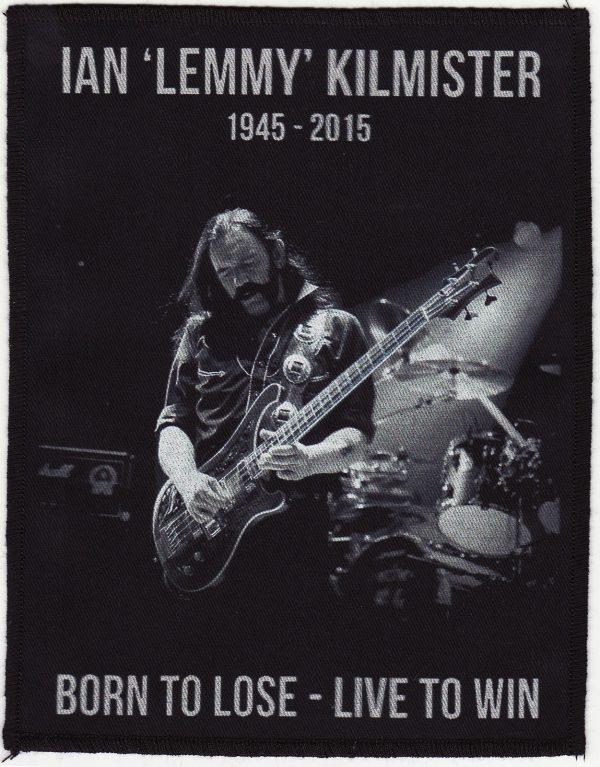 Ian 'Lemmy' Kilmister Black Patch