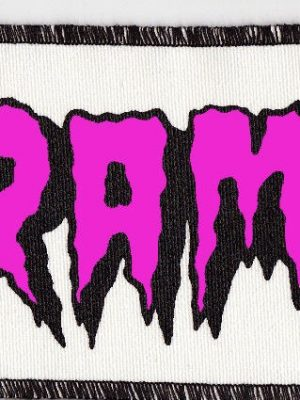 The Cramps Pink and White Patch