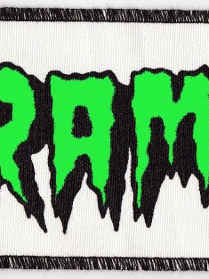 The Cramps Green and White Patch