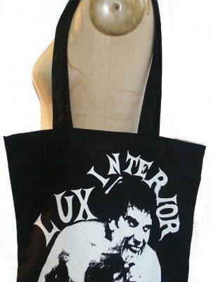 The Cramps Lux Interior Black Tote Bag