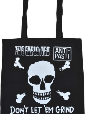 Don't Let Em Grind You Down Black Tote Bag
