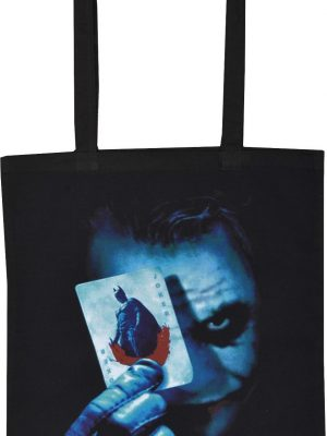 The Joker Black Tote Bag