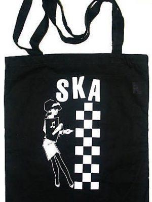 Ska Girl Black Tote Bag