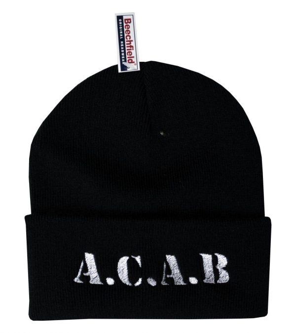 A.C.A.B Embroidered Beanie