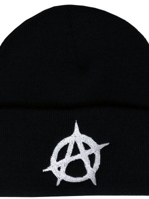 Give Me Anarchy Embroidered Beanie