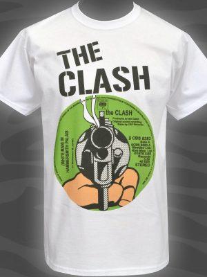The Clash Hammersmith Mens White T-Shirt