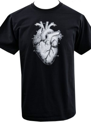Anatomical Heart Mens T-Shirt