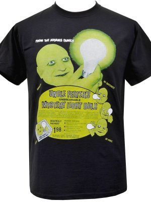 Uncle Festers Mystery Light Bulb Mens T-Shirt