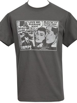 The Cramps Goo Goo Muck Grey Mens T-Shirt